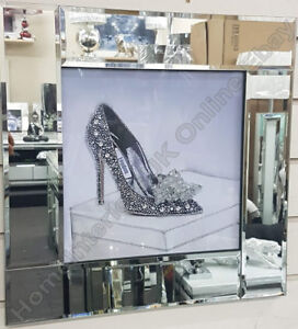 Silver-London-stiletto-heels-with-crushed-glass-crystals-amp-mirror-black-pictures