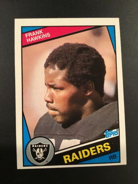 1984 Topps #108 FRANK HAWKINS Los Angeles Raiders NM-MT