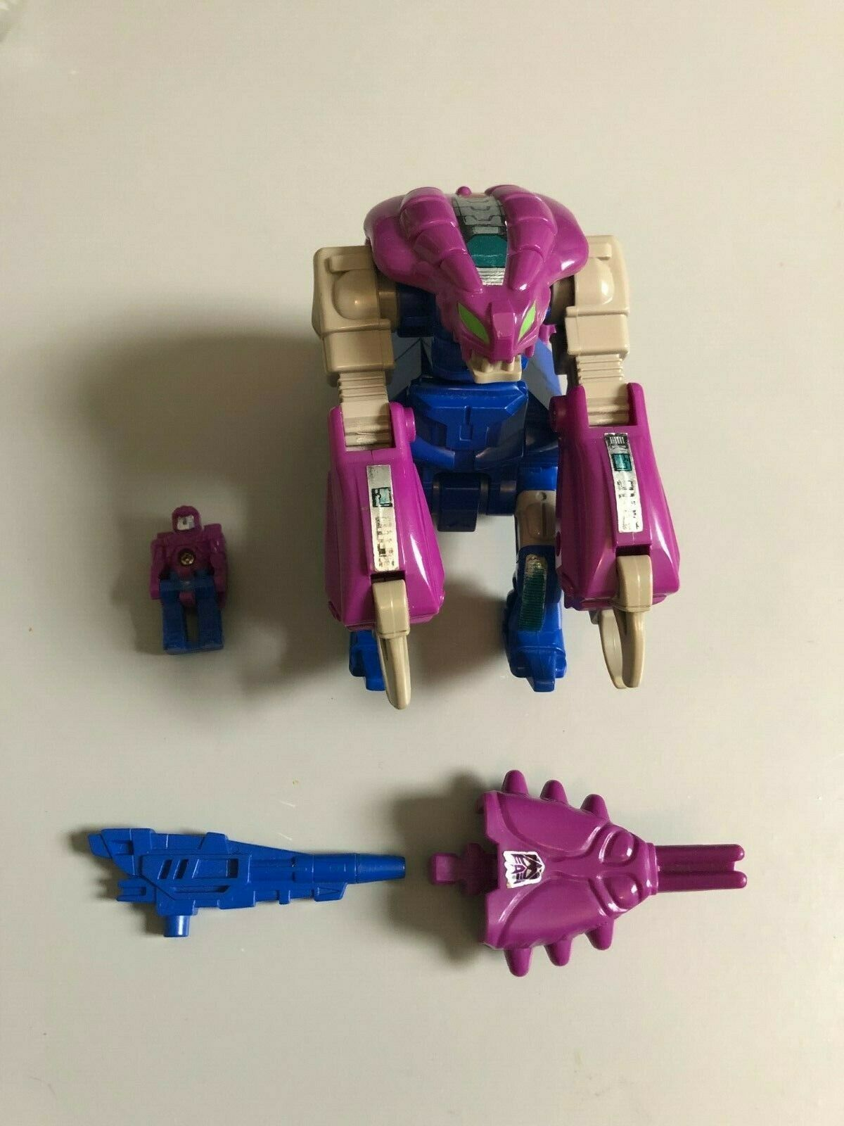 TRANSFORMERS G1 - VINTAGE 1987 - Hasbro Squeezeplay Figure - 100% Complete