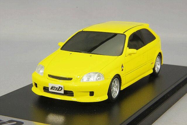 1/43 Hi-Story Modeladores Honda Civic EK9 Initial D Daiki Ninomiya MD43217