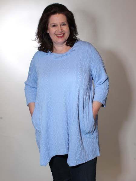 XXL put Tunic Long Shirt från Pont Neuf Storlek 48 50  52 Isabella Lagenlook ny