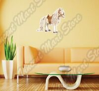 White Cute Horse Fairy Tail Princess Wall Sticker Interior Decor 22x22