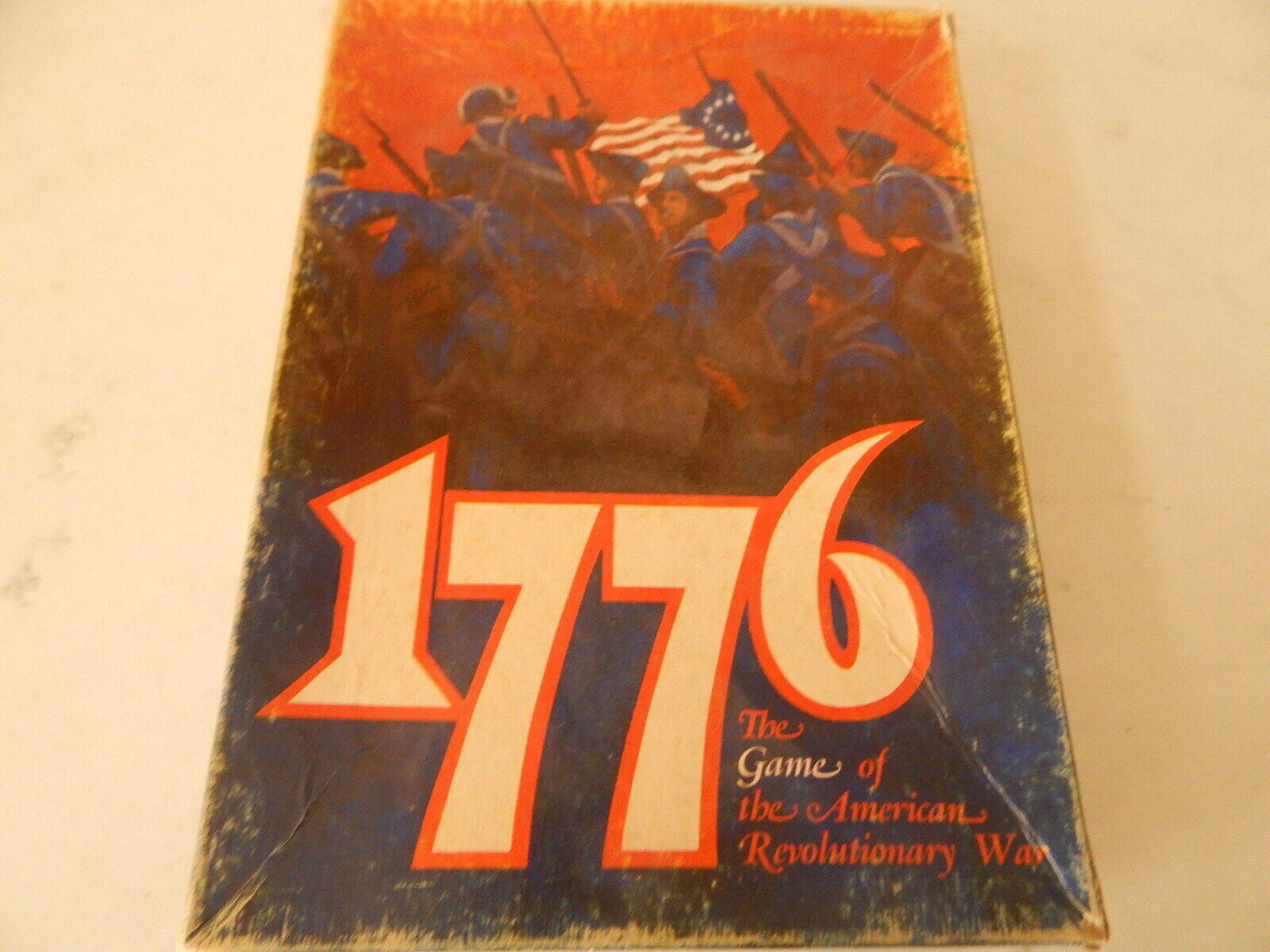 1776 The Game of the American Revolutionary War by Avalon Hill Un-Punched NEW