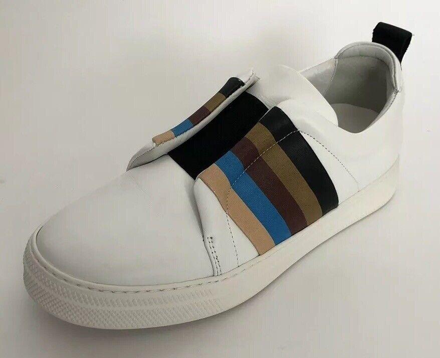 disponibile Pierre Hardy Hardy Hardy donna scarpe Dimensione 39 NIB Stripes bianca scarpe da ginnastica Slip On  migliori prezzi e stili più freschi