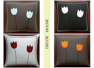 "Pillow case  15""x15"" Cushion Cover Decorative Pillowcases cotton bedroom hadmad"