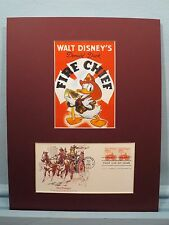 Donald Duck Salutes the Firemen of America & First Day Cover