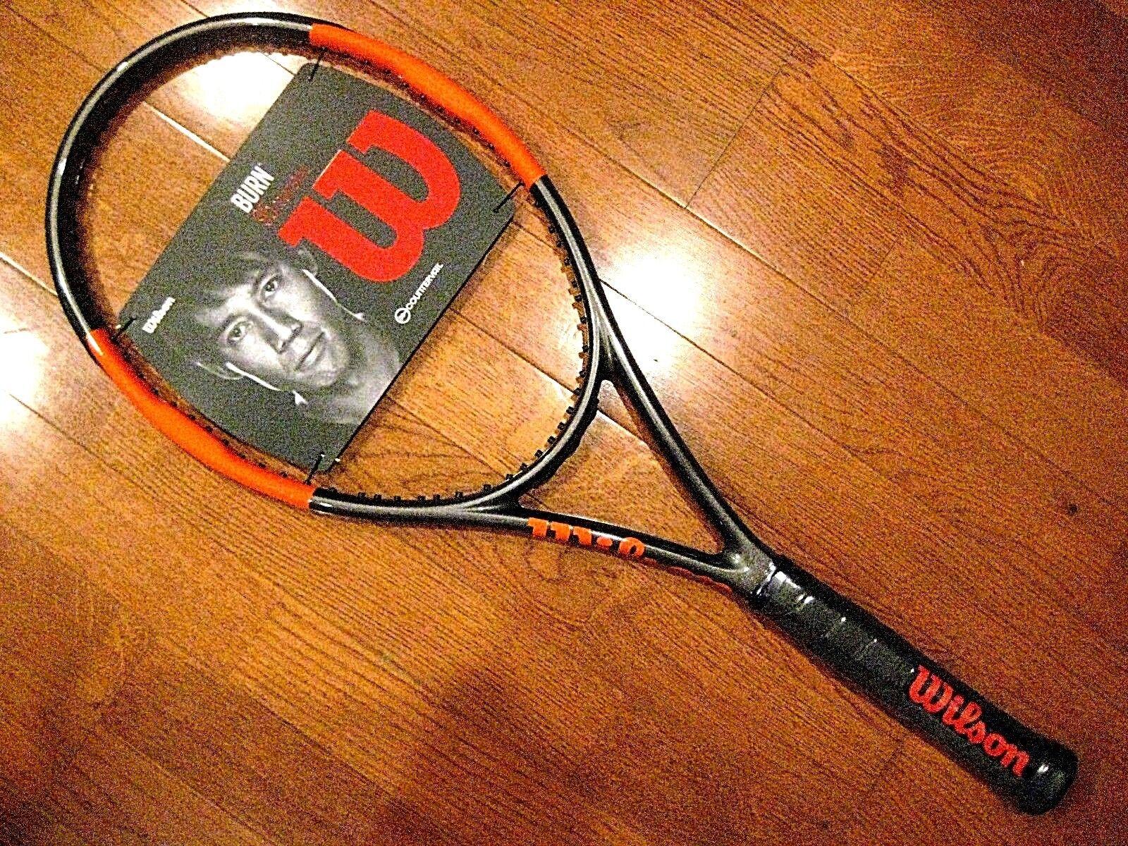 Quemadura 95 countervail Tenis Raqueta Wilson (  totalmente Nuevo Nuevo Nuevo ) e45390