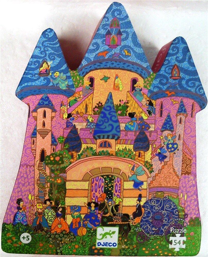 Djeco rompecabezas de la caja en forma de , el Castillo de hadas por Djeco