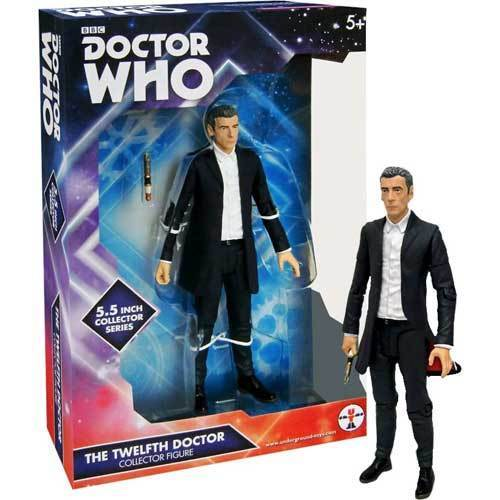 Doctor Who - 12th Doctor in White Shirt Figure NEW Character Group