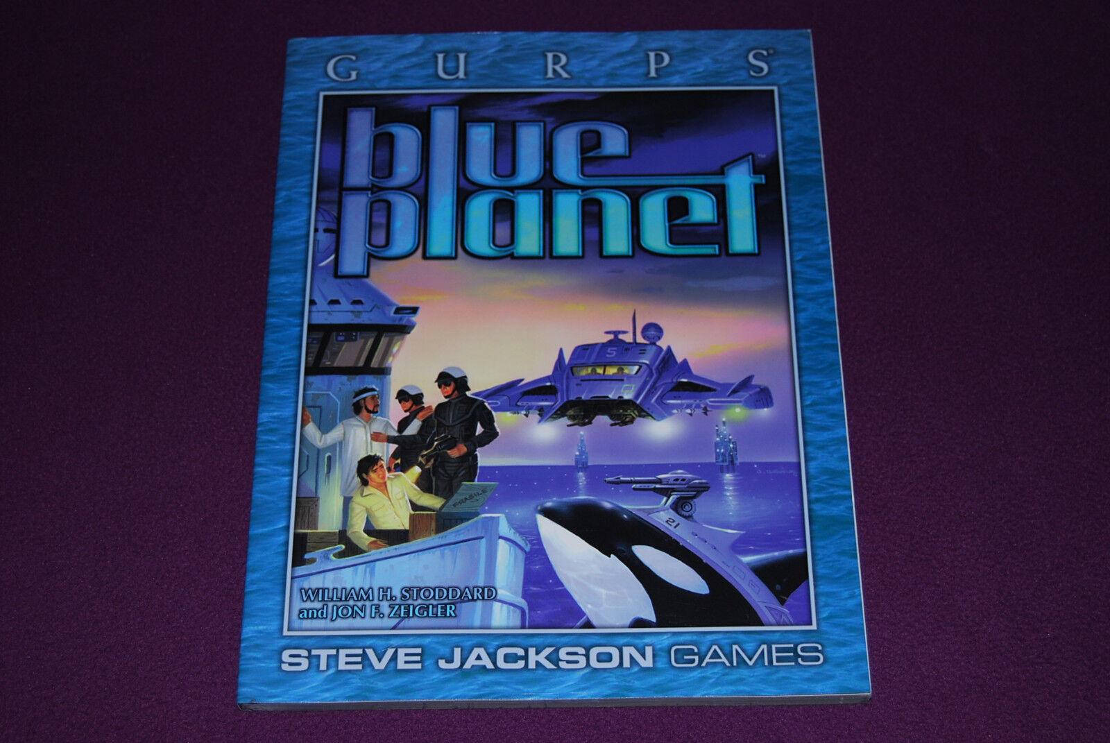 GURPS RPG JDR Jeu de Role  Générique - bleu Planet  vente avec grande remise
