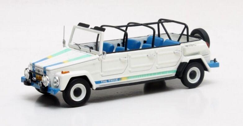 Matrix MAX32105-051 - Volkswagen VW VW VW Thing limousine blanc/bleu - 1979   1/43   Convivial  623d7d