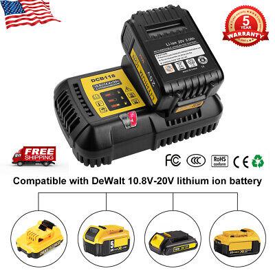 De-Walt DCB118 20V//60V Max Li-ion Flexvolt Fan Cooled Fast Battery Charger