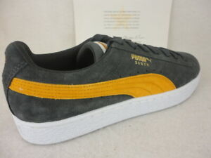 Details about Puma Suede Classic, Iron Gate Buckthorn Brown White, 365347 32, Size 10.5
