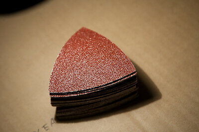 50x P60 Grit Sanding Paper for Wood - DREMEL Rockwell RIDGID Worx Bosch Fein