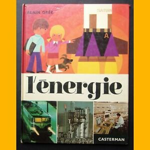 Collection-cadet-rama-L-039-ENERGIE-Alain-Gree-Casterman-1984