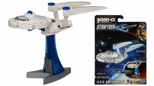 HASBRO KREO BRAND NEW 39 PIECES STAR TREK KRE-O SET U.S.S ENTERPRISE MINI-SHIP