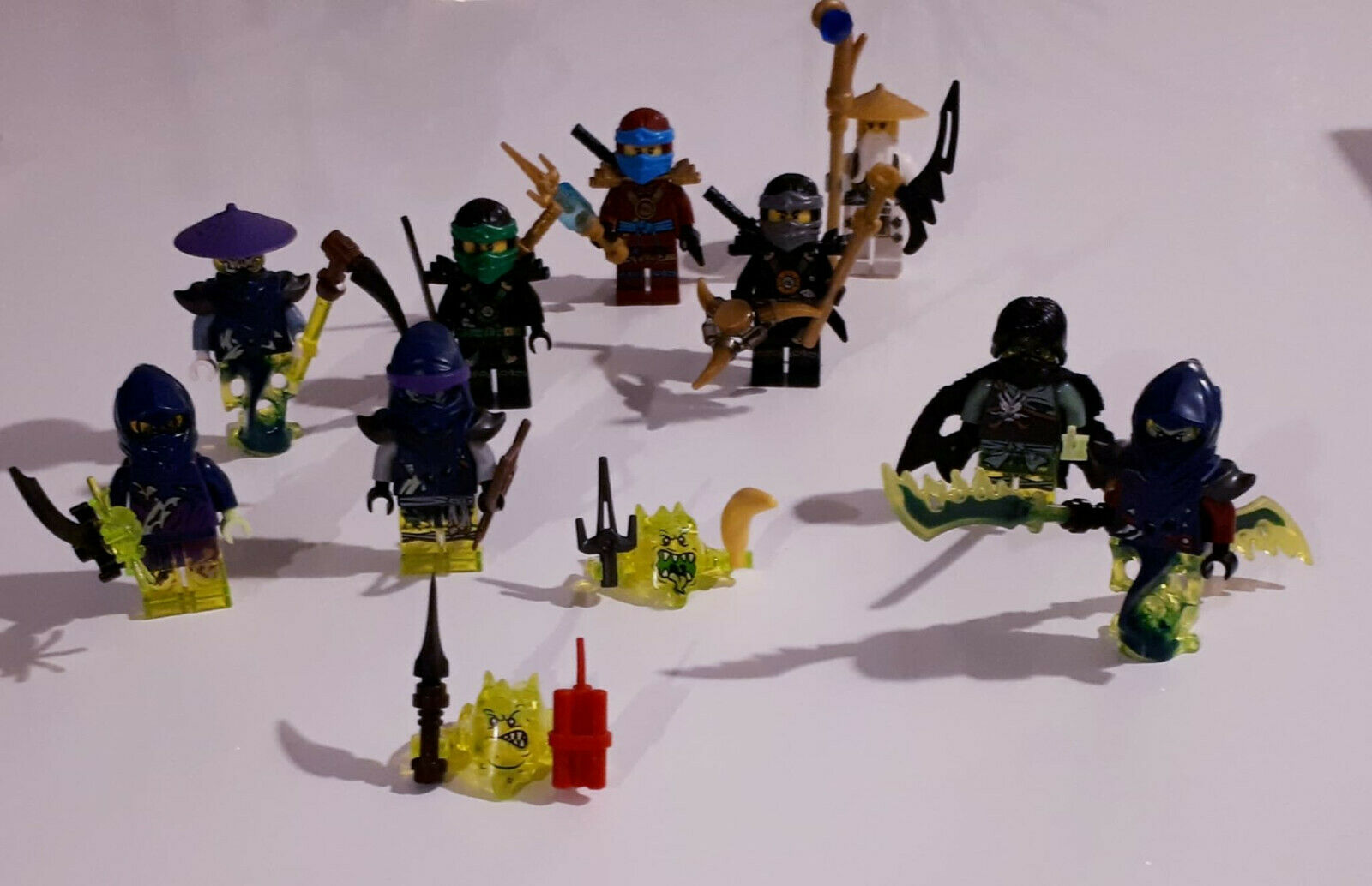 Lot de 11 figurines Lego Ninjago - Set 70738 - - - Minifig, minifigure 5c3c4b