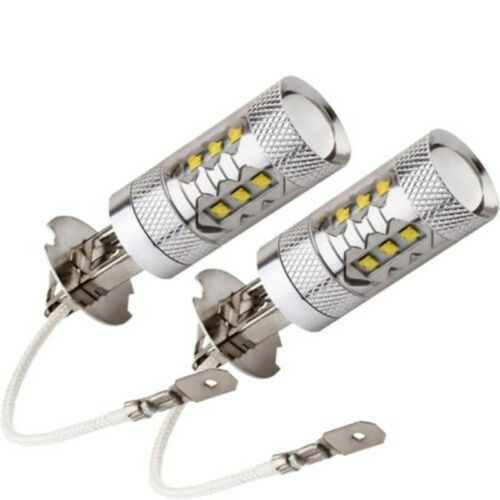 H3 LED Clear Xenon 100w Headlight Fog Lamps Spot Light Bulbs FIT FOR BMW 7Series