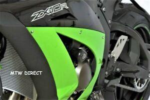 Kawasaki-ZX10-R-2011-R-amp-G-Racing-Aero-RACE-Crash-Protectors-CP0335BL-Black