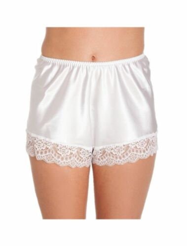 Mesdames satin French Knickers Dentelle Rétro Tailles Plus