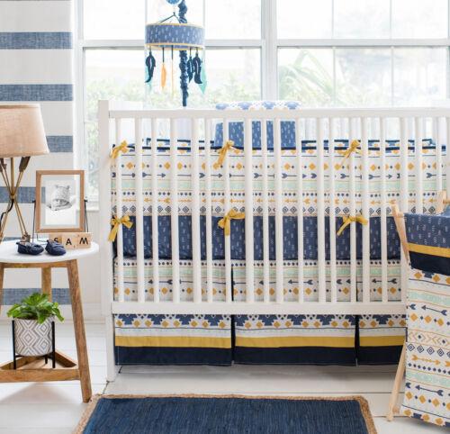 My Baby Sam Desert Sky Nursery Crib Bedding Set CHOOSE 3 4 5 6 Piece Set