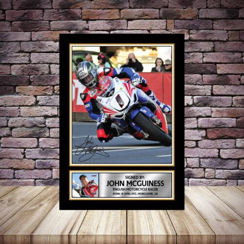 JOHN MCGUINNESS   Framed Poster Autographed Print A1 A2 A3 A4 2018