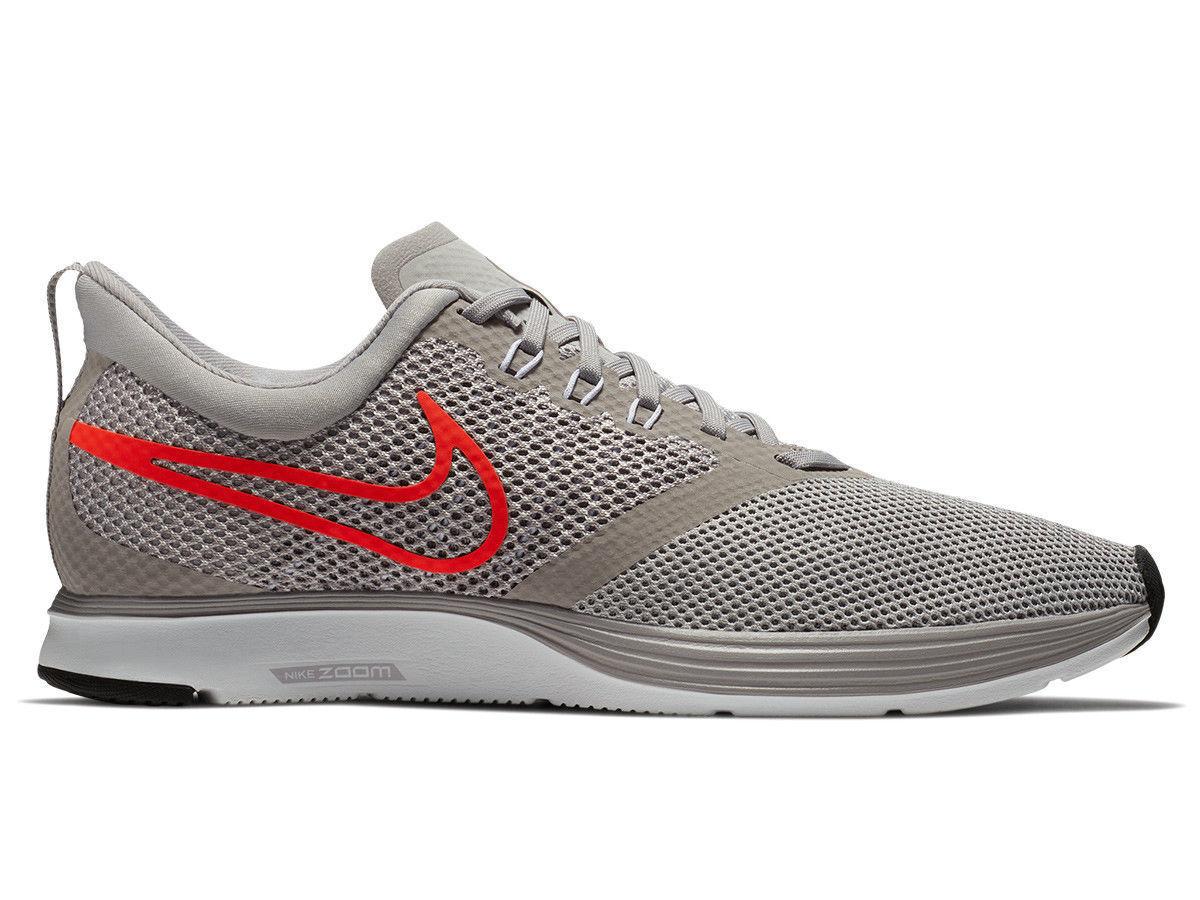 Nike Zoom Strike Mens Running shoes Atmosphere Grey Total Crimson AJ0189 006 Fly