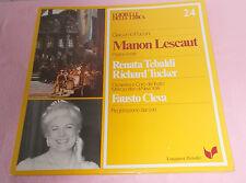 LP I Gioielli Delia Lirica 24 Puccini Manon Lescaut,R.Rebaldi,R.Tucker,VG+,Italy