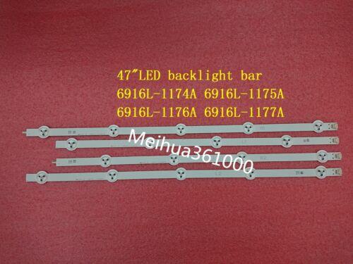 """New Original 4 Pieces//lot 47/""""ROW2.1 rev 0.7 6916L-1174A 6916L-1175A 1176A 1177A"""