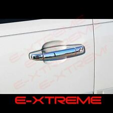 FOR CADILLAC ESCALADE EXV/EXT 07-13 CHROME 4 DOORS HANDLE COVERS W/ PASSENGER KH