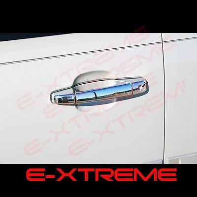 2007-2014 GMC Yukon Yukon XL Chrome Door Handle Covers 4 Doors