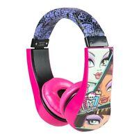 Monster High Kid Safe Over The Ear Headphone W/ Volume Limiter (30348)