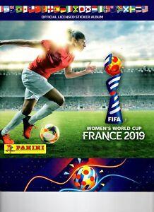 PANINI-stickers-Femmes-Coupe-du-monde-2019-Woman-World-cup-10-de-presque-tous-les-choisir-454-6