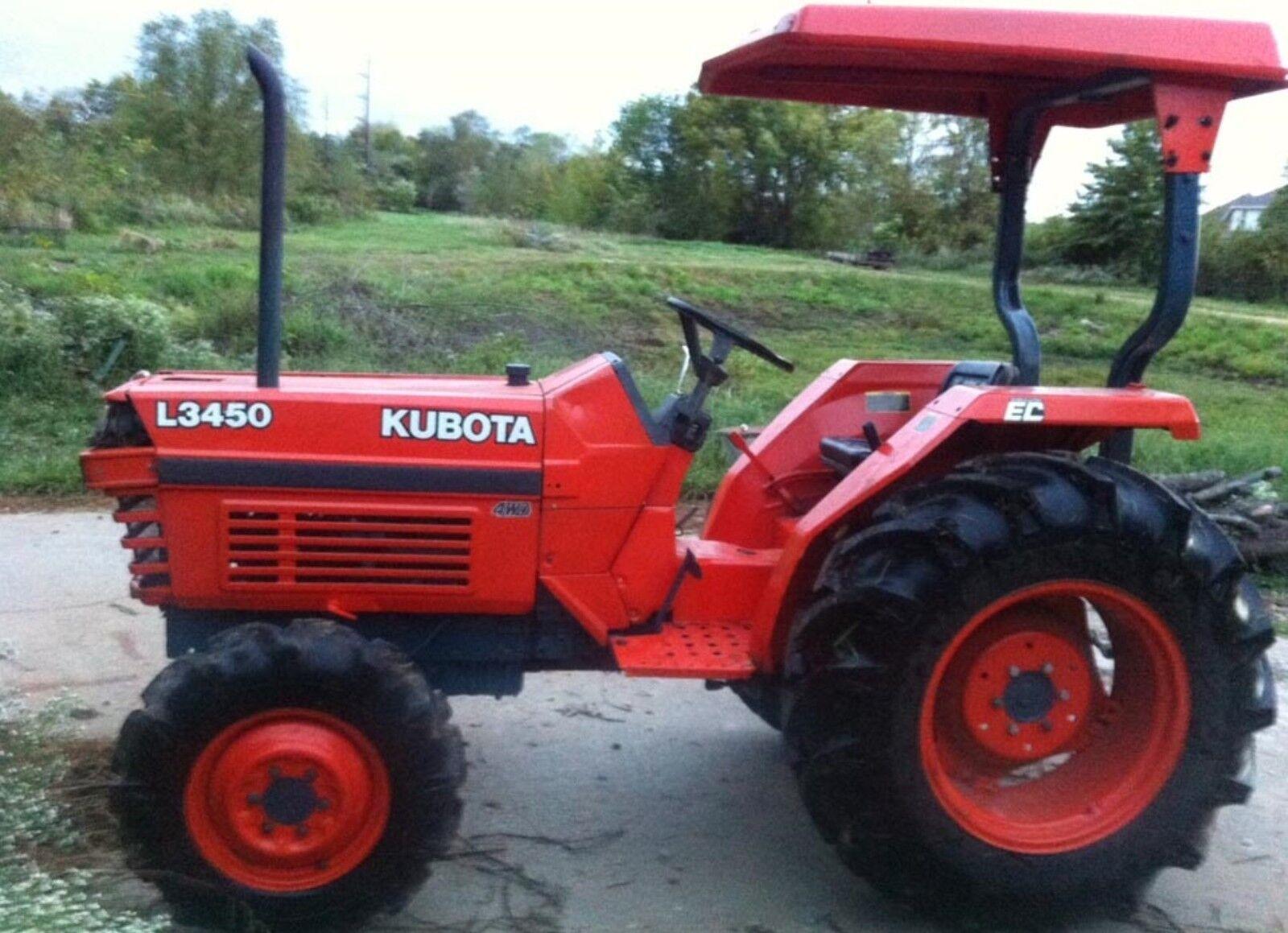 Kubota L2650 L2950 L3450 L3650 Tractors Operators Manual – Kubota L2950 Wiring Schematic