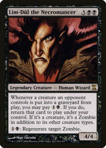 Lim-Dul the Necromancer Time Spiral NM-M Black Rare MAGIC MTG CARD ABUGames