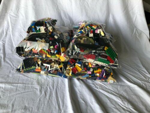 Genuine LEGO 5LB LotMixed bricks//pieces and minifigures