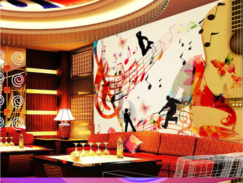 3D Music World 895 Wall Paper Murals Wall Print Wall Wallpaper Mural AU Kyra