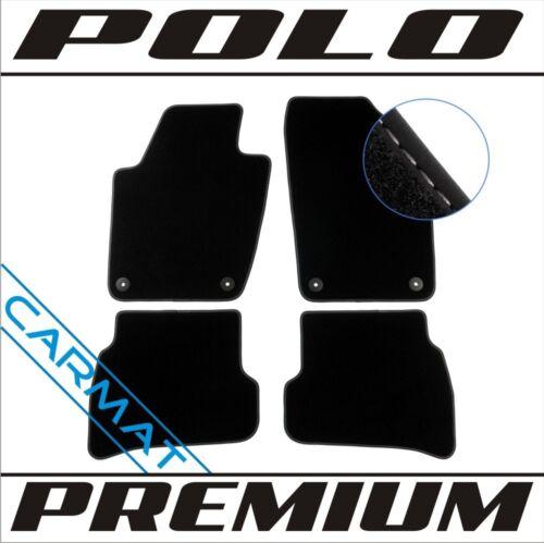 Vw Polo 6R 2009 Premium Fussmatten Autoteppiche