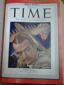 Bound-Time-Magazines-Mar-1946-Dec-1948-Rare-Vintage-Magazine
