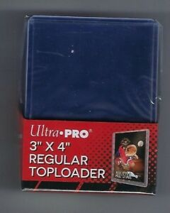 25 Ultra Pro 3x4 Sports Card Toploaders