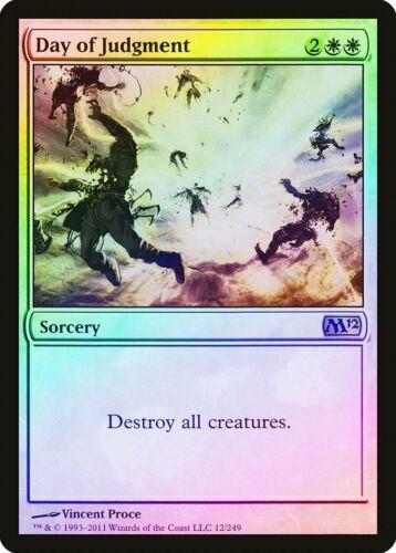 Day of Judgment FOIL Magic 2012 M12 PLD White Rare MAGIC MTG CARD ABUGames