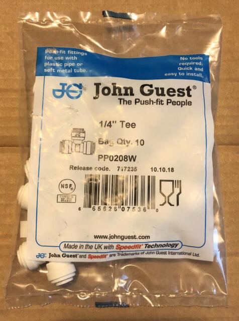 John Guest Plumbing Speedfit Tee 10mm For Sale Online Ebay