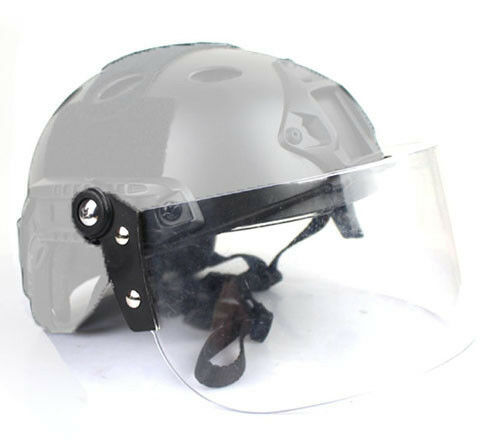 5pcs  Tactical Face Shield Mask Goggles For Mich FAST Helmet Paintball Airsoft