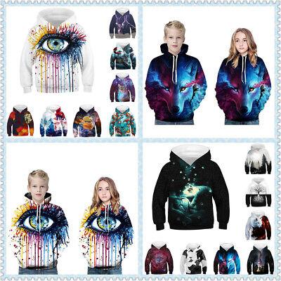 Teen 3D Scooby Doo Hoodie Sweatshirt for Fashion Boys Girls