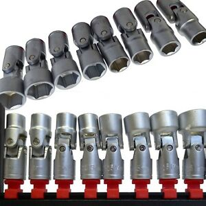 8pc-Universal-Joint-Socket-Set-Metric-PLIABLE-Flexi-sur-rail-3-8-034-dr-10-19-mm-6-Pt