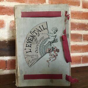 L Ventaglio Octave Brougham Disegno P. Avril I Topper Della Donna Quantin 1882