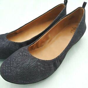 Style-amp-Co-Vinniee-Women-039-s-Size-Ballet-Flat-Slip-On-Shoes-Dark-Gray-Choose-Size