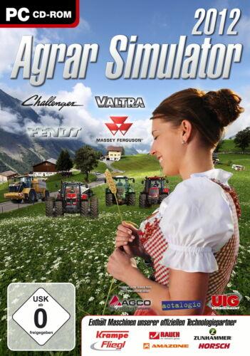 1 von 1 - Agrar Simulator 2012 (PC, 2011, DVD-Box)