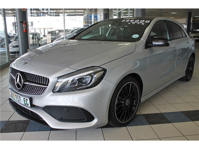 2018 Mercedes-Benz A 200 d AMG Sport, Silver with 18500km available now!