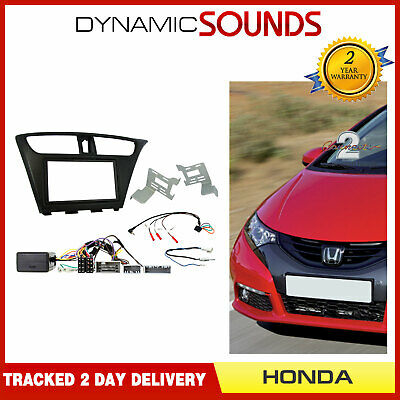 Honda Civic 2006/> 2011 Double Din Facia Fitting Kit Connects2 CT23HD11